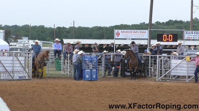 Mineral Wells Texas 2017 X Factor Roping